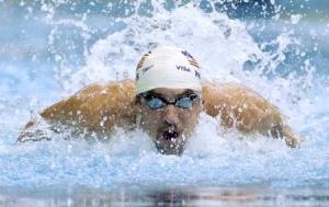 Соревнования по плаваню